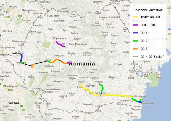 Articol 130km Ro Review Autostrazi In 2013 Si Perspective Viitoare